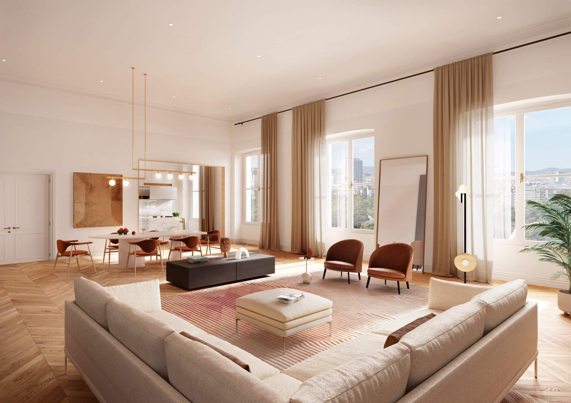 Apartment 401 - Living room