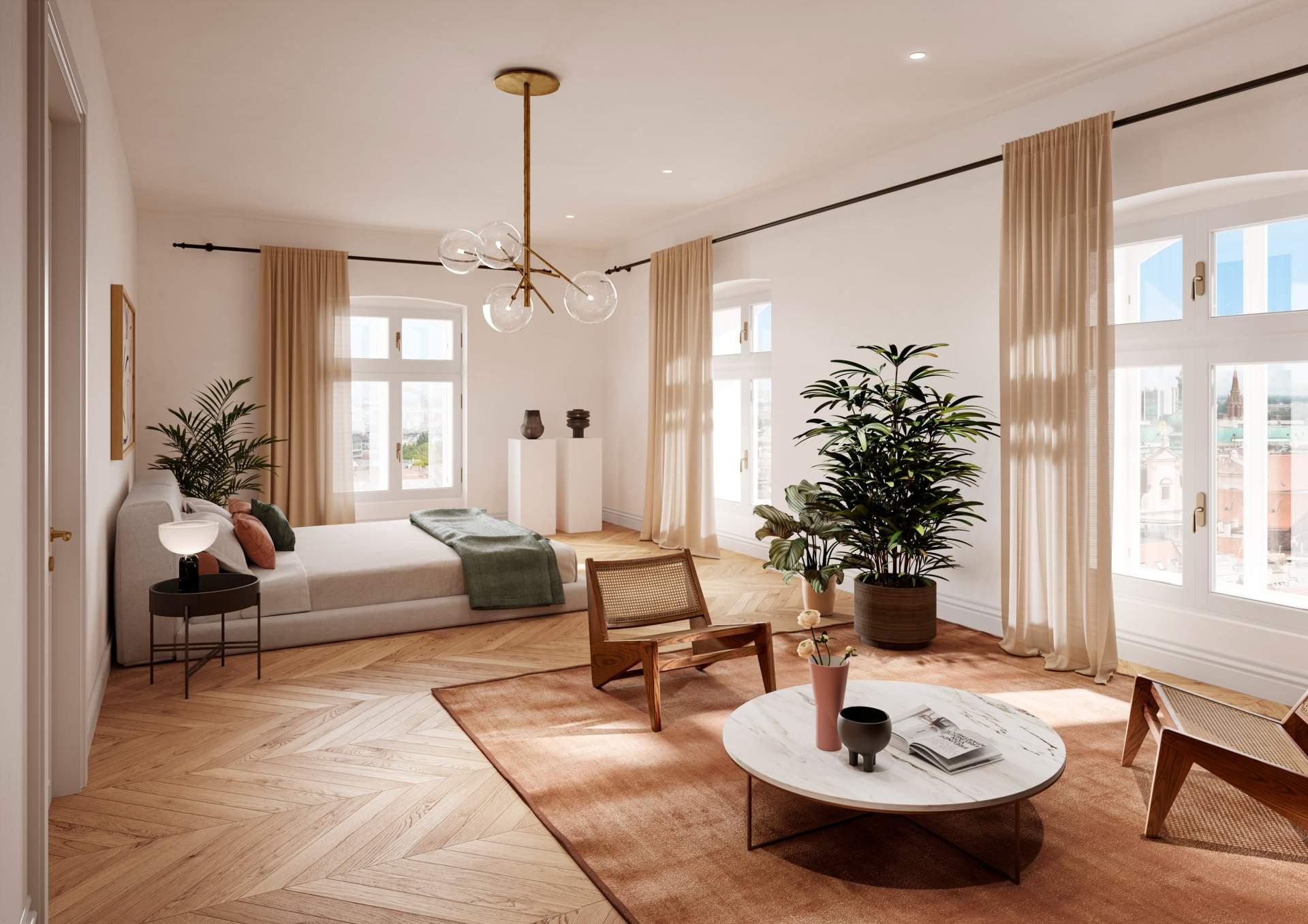 Apartment 602 - Master bedroom