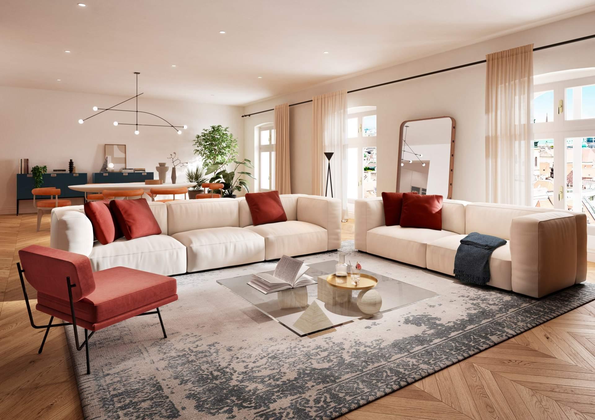 Apartment 602 - Living room
