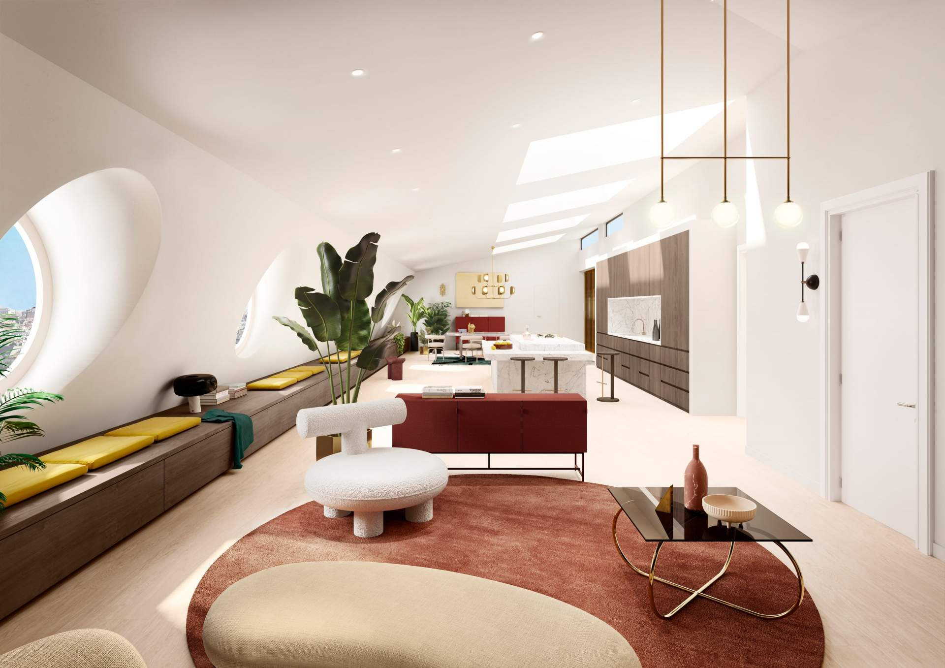 Apartment 801 - Living room
